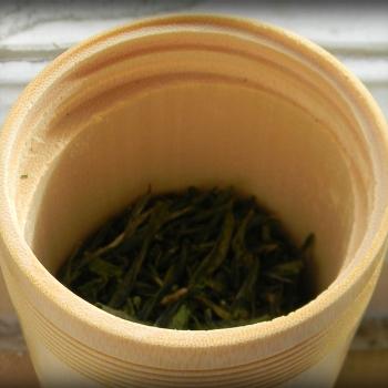 Банка для хранения чая. Бамбук.