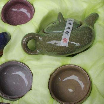 Фарфоровый набор для чайной церемонии