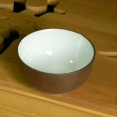 Пиала глиняная - белая глазурь [40мл]